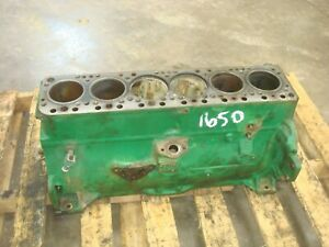 1966 Oliver 1650 Gas Tractor Engine Block 1550