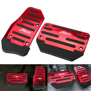 Universal Non Slip Automatic Gas Brake Foot Pedal Pad Cover Car Accessories Us