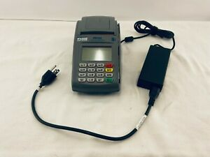 First Data Fd100 001078064 Credit Card Terminal Machine With Cable