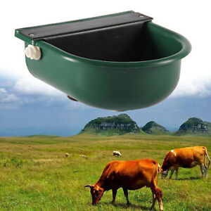 Livestock Cattle Drinking Water Bowl Large 4l Waterer Horse Cow Farm Tool