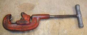 Ridgid 2 a Pipe Cutter 1 8 To 2 Capacity Heavy Duty 2a Good Used Cond Bw12
