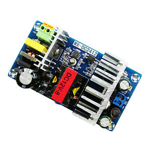 Ac Converter To Dc 12v 8a 100w Regulated Switching Power Supply Board Module
