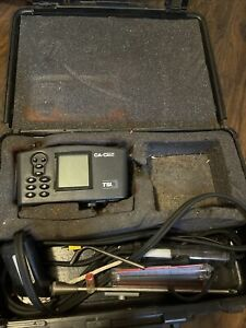 Tsi Ca calc 6130 Combustion Gas Analyzer Kit With Case As Is Not Working