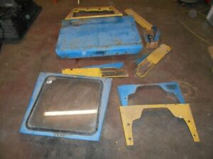 1978 Ford 2600 3600 Tractor Canopy Enclosed Cab Parts Sims
