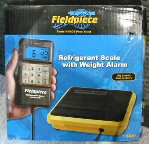 New Fieldpiece Srs1 Residential Light Commercial Refrigerant Scale W Carry Case