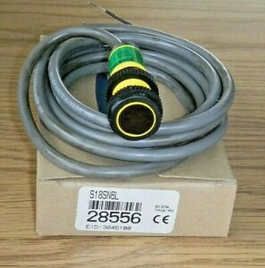 Banner S18sn6l Photoelectric Sensor Retroreflective Self Contained Npn N o n c