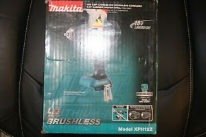 Makita Xph12z 18v Li ion Brushless Compact 1 2 Hammer Drill Tool Only