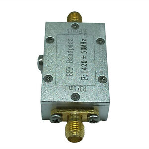 Rf Low Pass Filter Connector Radio Frequency 1420 50mhz Bpf Band Pass 50ohm