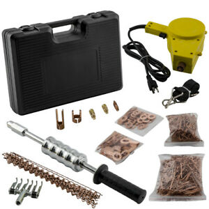 110v Stud Welder Dent Puller Kit Welding Wire Stud Car Body Repairs With Hammer