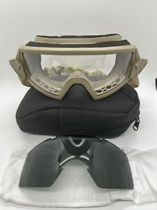 Acu Apel Ballistic Military Issue Goggles Case black Replacement Lens $34.99