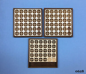 Kingsley Machine 3 empty Wooden Type Trays Hot Foil Stamping Machine