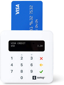 Sumup Plus Card Reader Accept Swipe Chip And Contactless Payments