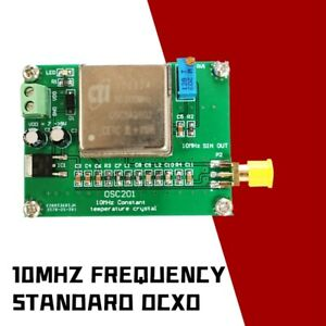 Standard 10mhz Frequency Ocxo Frequency Reference Board Sine Wave For Radios
