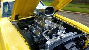 Supercharged 408 Ford Stroker Engine Pro Street Blower Turn Key Small Block Sbf