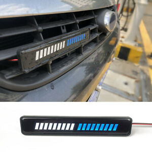 Led Light Car Front Grille Badge Illuminated Decal Sticker Lamp Car Accessories Fits 2009 Toyota Tacoma