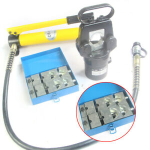 20t Hydraulic Wire Terminal Crimping Tool Mold Set Metallurgical Shipbuilding
