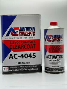 Automotive High Gloss Clear Coat Urethane Ac 4045 Hs 41 Gallon Clearcoat Kit