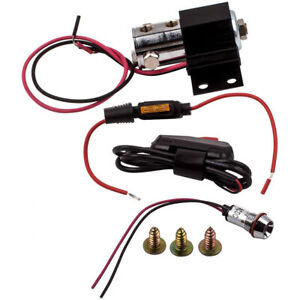 Universal Front Electric Brake Line Lock Kit Roll Control System Hill Holder