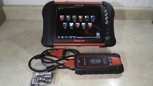 Snap On Verus Wireless Eems325 Scanner And 4 Channel Scope V162 With Euro