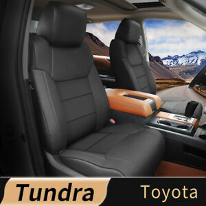 5 sit Car Leather Custom Luxury Car Seat Cover Fit For Toyota Tundra 2014 2021