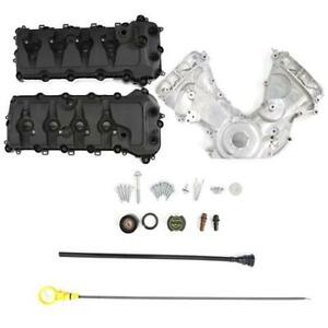 2011 17 Mustang Ford Performance Coyote Timing Cover Cam Cover Kit 5 0