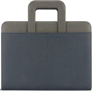 Zipper Padfolio With Handle 3 Ring Binder For Work Business Planner Organizer