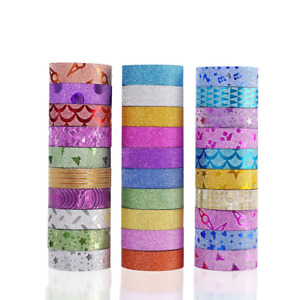 30 Rolls Washi Masking Tape Set decorative Craft Collection For Diy And