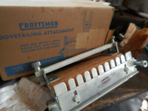 Vintage Craftsman Dovetail Fixture For Drill Press In Box