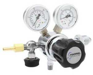 Harris Kh1002 Specialty Gas Regulator Single Stage Cga 320 0 To 125 Psi Use