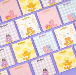 Carebears Character Sticky Notes Memo Pad 5 Types