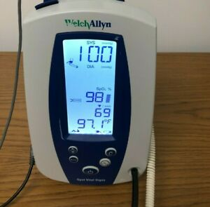 Welch Allyn 42ntb Spot Vital Signs Patient Monitor