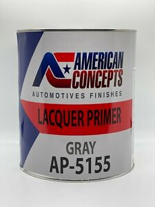 Ap 5155 High Build Acrylic Lacquer Primer Gray Gallon Fast Dry Easy Sanding