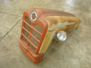 1957 Ford 861 Tractor Hood Power Master 800