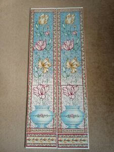 Victorian Style Floral Fireplace Tiles