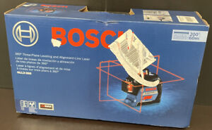 Bosch Gll3 300 360 Three plane Leveling And Alignment line Laser New