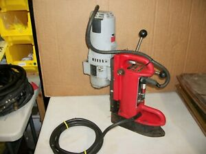 Milwaukee Mag Magnetic Drill Press 4201 Base With 4292 1 Motor Electromagnetic