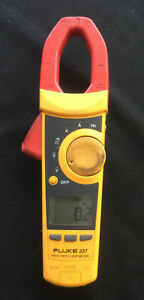 Fluke 337 True Rms Clamp Meter No Leads Meter Only Free Shipping