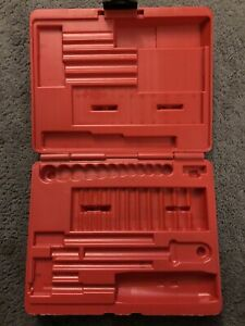 New Listingsnap On Tools Pakpb067 14 Drive Set Plastic Storage Case Made In Usa