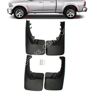 New Fit For Dodge Ram 1500 2500 3500 2009 2018 Mud Flaps Splsh Guards Front Rear