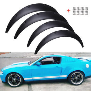 For Ford Mustang 5th Shelby Car Fender Flares Wheel Extra Wide Arches 32 35 Us