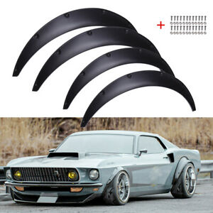 For Ford Mustang 1st 1965 1973 Car Fender Flares Wheel Extra Wide Arches 32 35