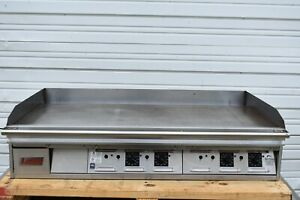 Lang 148sc 48 Electric Thermostat Griddle