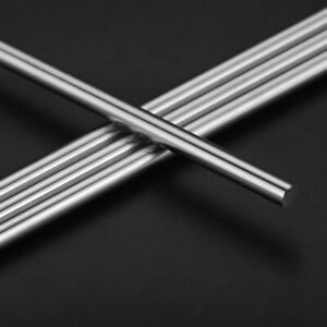 2pcs 6mm 16mm 8 500mm Linear Shaft Cylinder Chrome Plated Liner Rods Axis