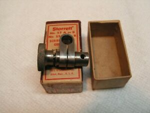 Vintage Starrett Scriber Sleeve Only 5 16 Hole For No 57 A B No 257 A B