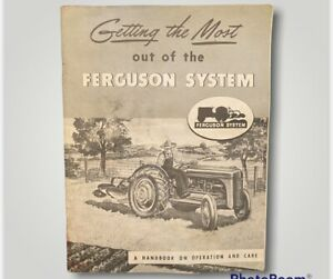 Getting The Most Out Of The Ferguson System Farming Equipment Vintage