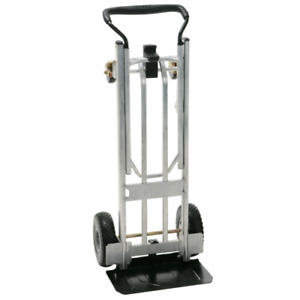 Cosco 3 in 1 Folding Series Hand Truck cart platform Cart With Flat free Wheels