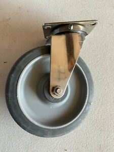 Set Of 4 Stainless Steel 6 Inch Swivel Casters