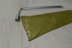 Vintage Toyota Oem Lug Wrench Tool Pouch Kit