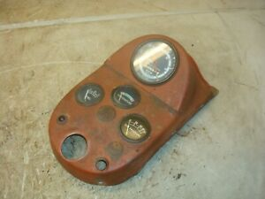 1957 Ford 861 Tractor Dash Instrument Panel 800