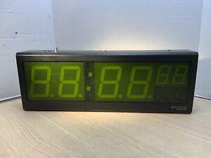 Spectracom Timeview Tv 400 Large 4 Led Clock Wall Display Rs485 Spe 810